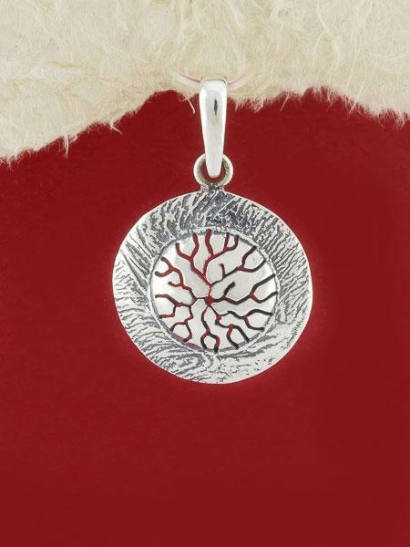 Сребърен медальон - PK27