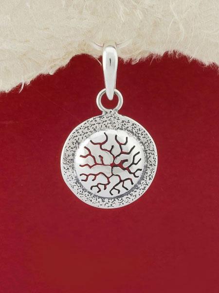 Сребърен медальон - PK28