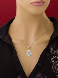 Сребърен медальон - PK29