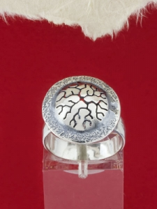 Сребърен пръстен - RK28