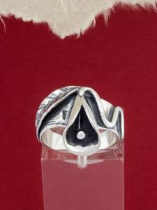 Сребърен пръстен - RK18