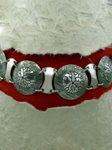 Сребърна гривна - BK27