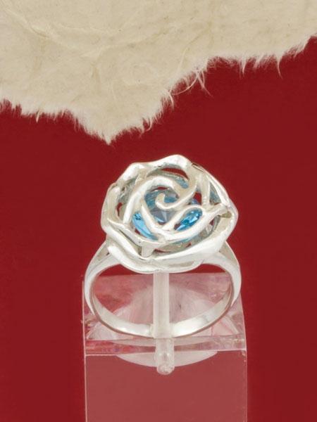 Сребърен пръстен - RK346