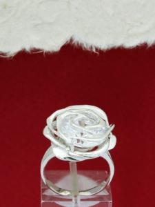 Сребърен пръстен - RK346A