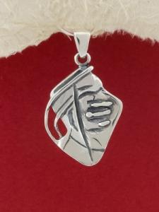 Сребърен медальон - PK32