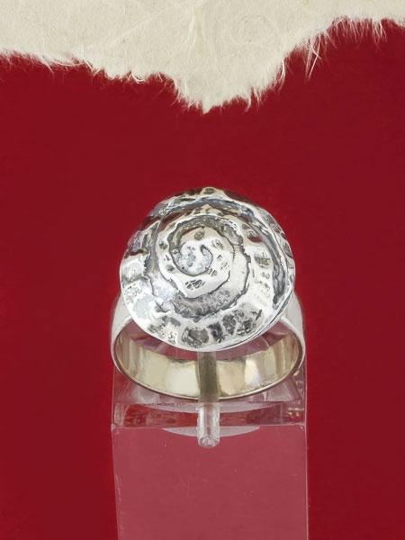 Сребърен пръстен - RK33