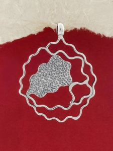 Сребърен медальон - PK37