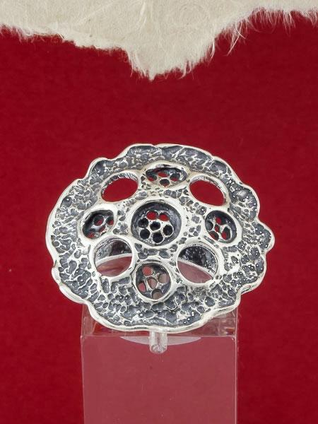 Сребърен пръстен - RK38
