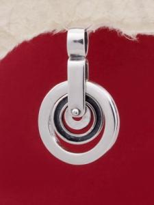 Сребърен медальон - PK45