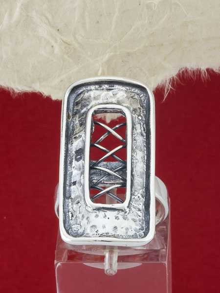 Сребърен пръстен - RK43