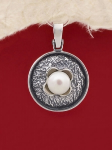 Сребърен медальон - PK50
