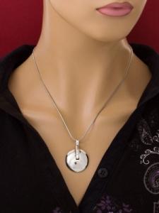 Сребърен медальон - PK51