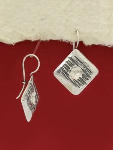 Сребърни обеци - EK39
