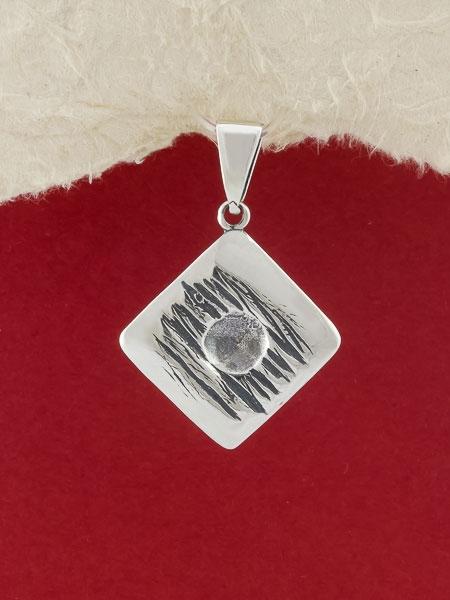 Сребърен медальон - PK39