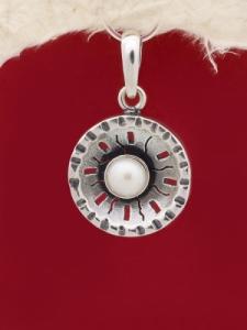 Сребърен медальон - PK44