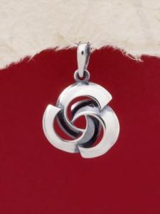 Сребърен медальон - PK54