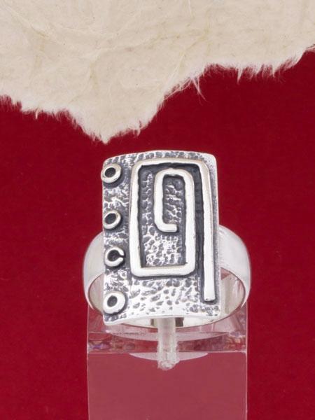 Сребърен пръстен - RK56