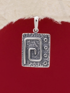 Сребърен медальон - PK56