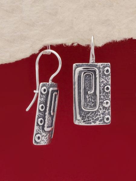 Сребърни обеци - EK56