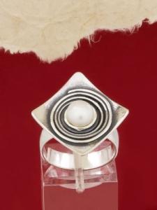 Сребърен пръстен - RK57