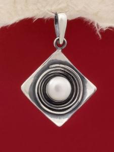 Сребърен медальон - PK57