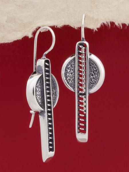 Сребърни обеци - EK58