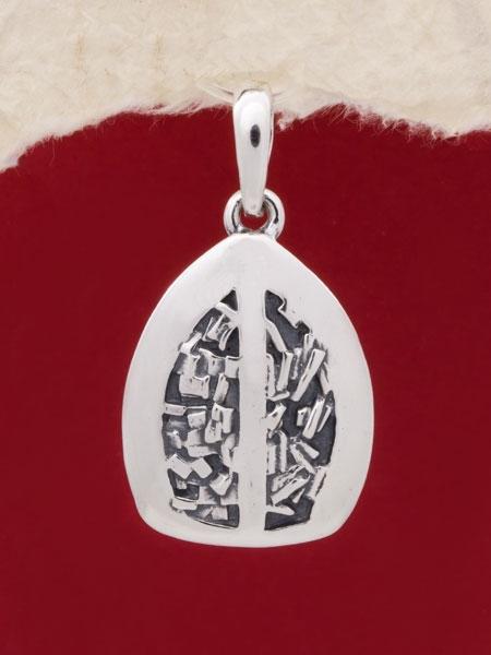 Сребърен медальон - PK61