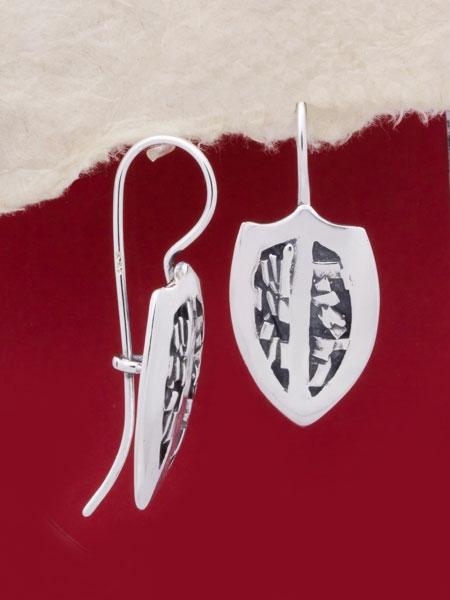 Сребърни обеци - EK61