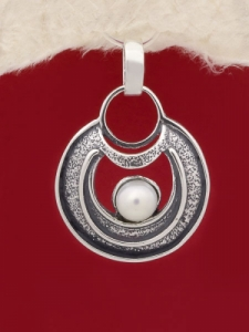 Сребърен медальон - PK71