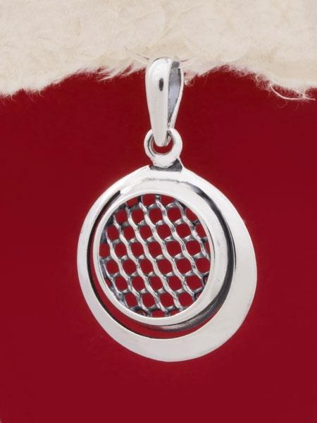 Сребърен медальон - PK76