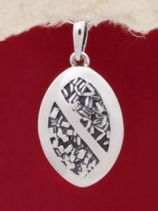 Сребърен медальон PK63