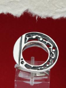 Сребърен пръстен RK70