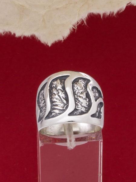 Сребърен пръстен - RK74