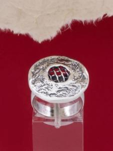 Сребърен пръстен - RK77