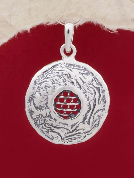 Сребърен медальон - PK77