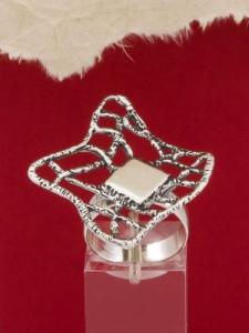 Сребърен пръстен - RK78