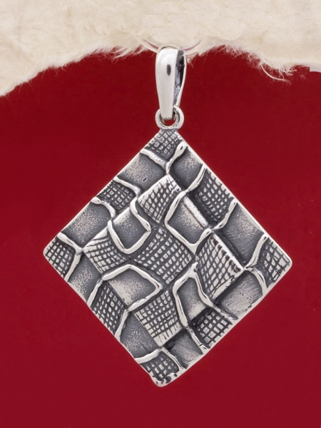 Сребърен медальон - PK81