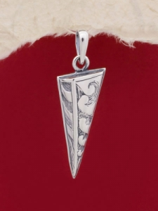 Сребърен медальон - PK83