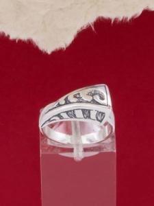 Сребърен пръстен - RK83