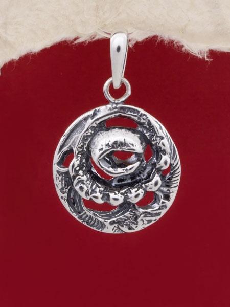 Сребърен медальон - PK87