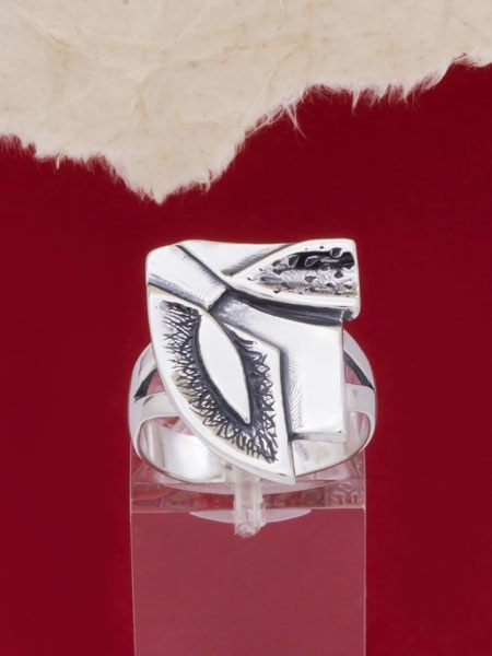 Сребърен пръстен - RK88