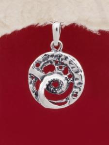 Сребърен медальон - PK89