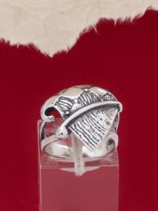 Сребърен пръстен - RK90
