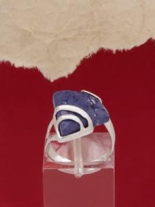 Сребърен пръстен RK130 - Дюмортиерит
