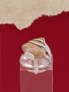 Сребърен пръстен RK130 Брекча яспис