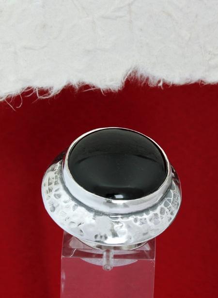 Сребърен пръстен RK3 Оникс
