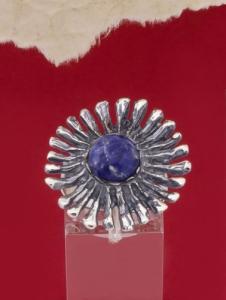 Сребърен пръстен RK26 Содалит