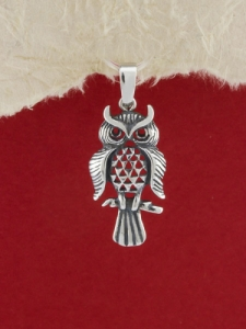 Сребърен медальон - P323