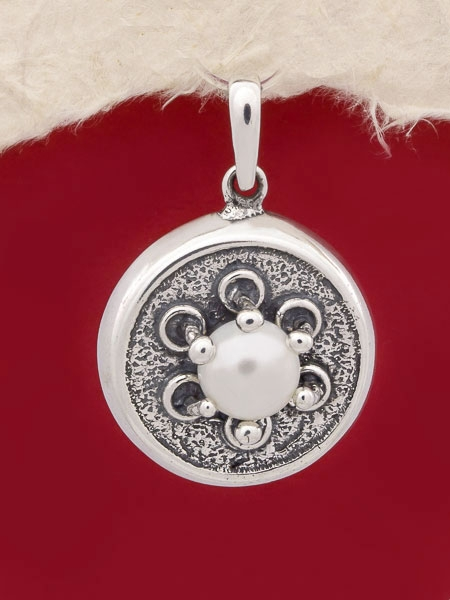Сребърен медальон - PK91