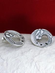 Сребърни обеци - EK94